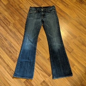 For all 7 mankind jeans Flare stressed